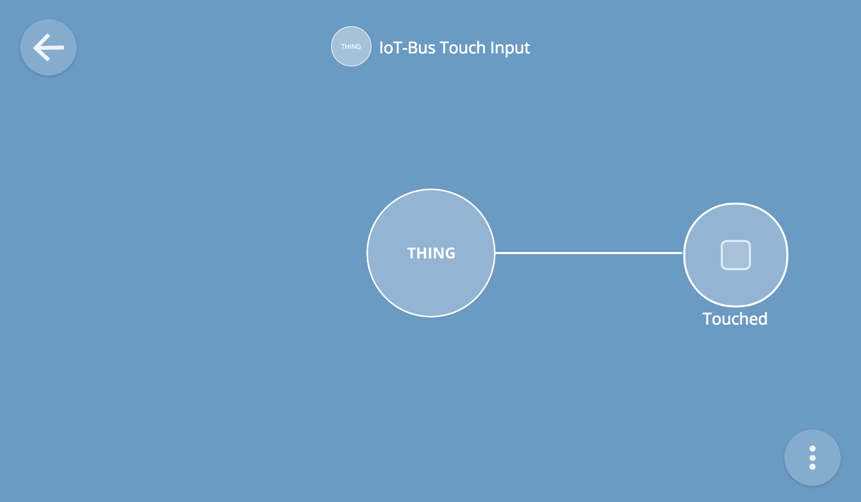 Touch Switch Thing Tutorial — iot-bus latest documentation